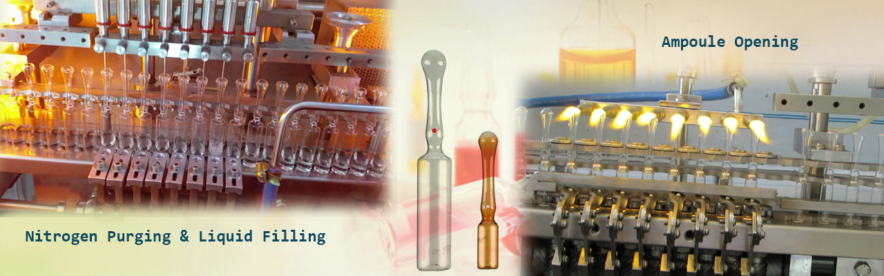 Filling & Sealing of Closed Mouth Ampoules