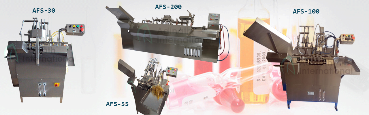 Ampoule Filling & Sealing Machines
